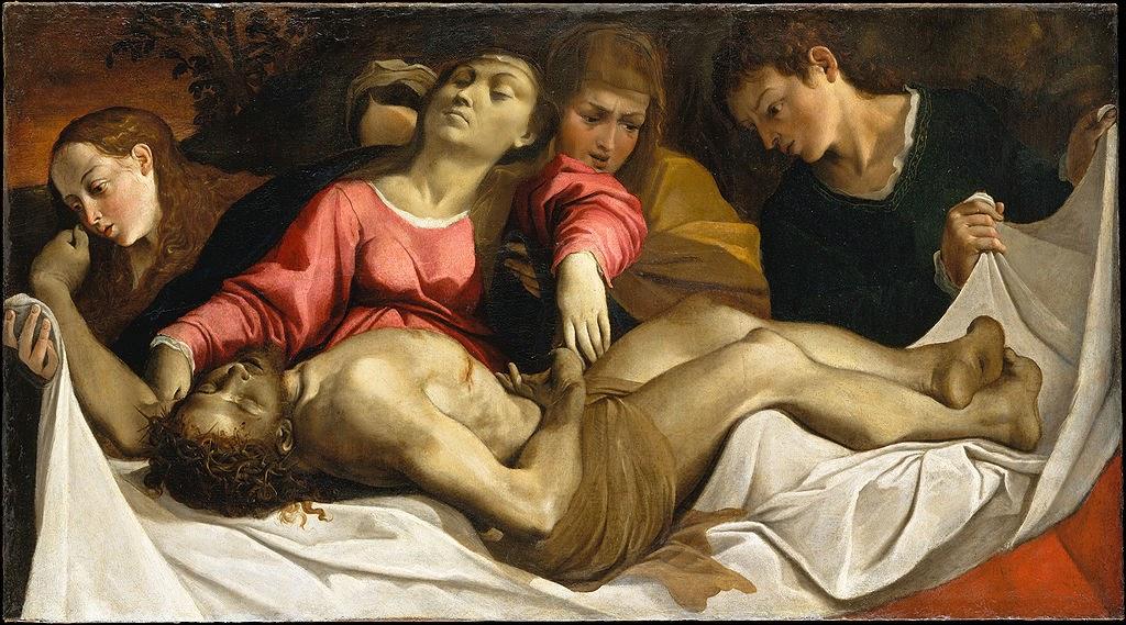 Ludovico Carracci - Lamentation