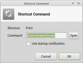 Shortcut Command