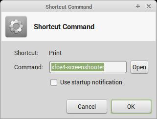 Shortcut Command