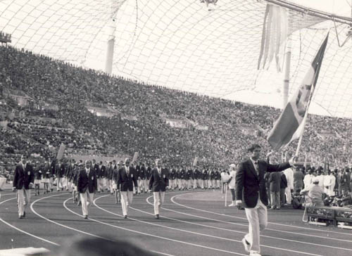 1972 Munich Olympics, the Romanian delegation