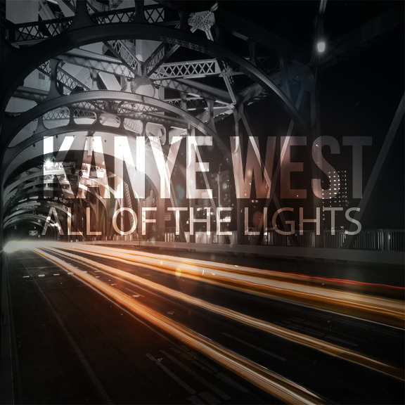 Poster Of All The Lights Kanye West – Daily Motivational Quotes
