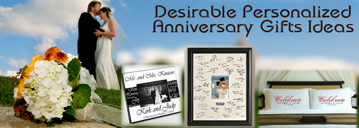 Most Desirable Personalized Anniversary Gifts Ideas