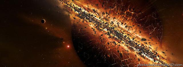 foto de una supernova para la portada de facebook