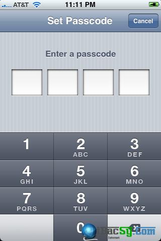 hình 2 - bảo mật cho iphone