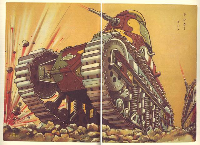 Shotaro Honda, illus. for Kodomo no kuni, vol.II, no. 3, 1932