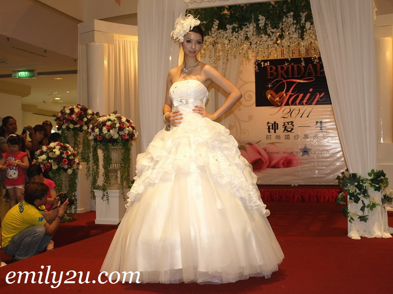 bridal evening gowns