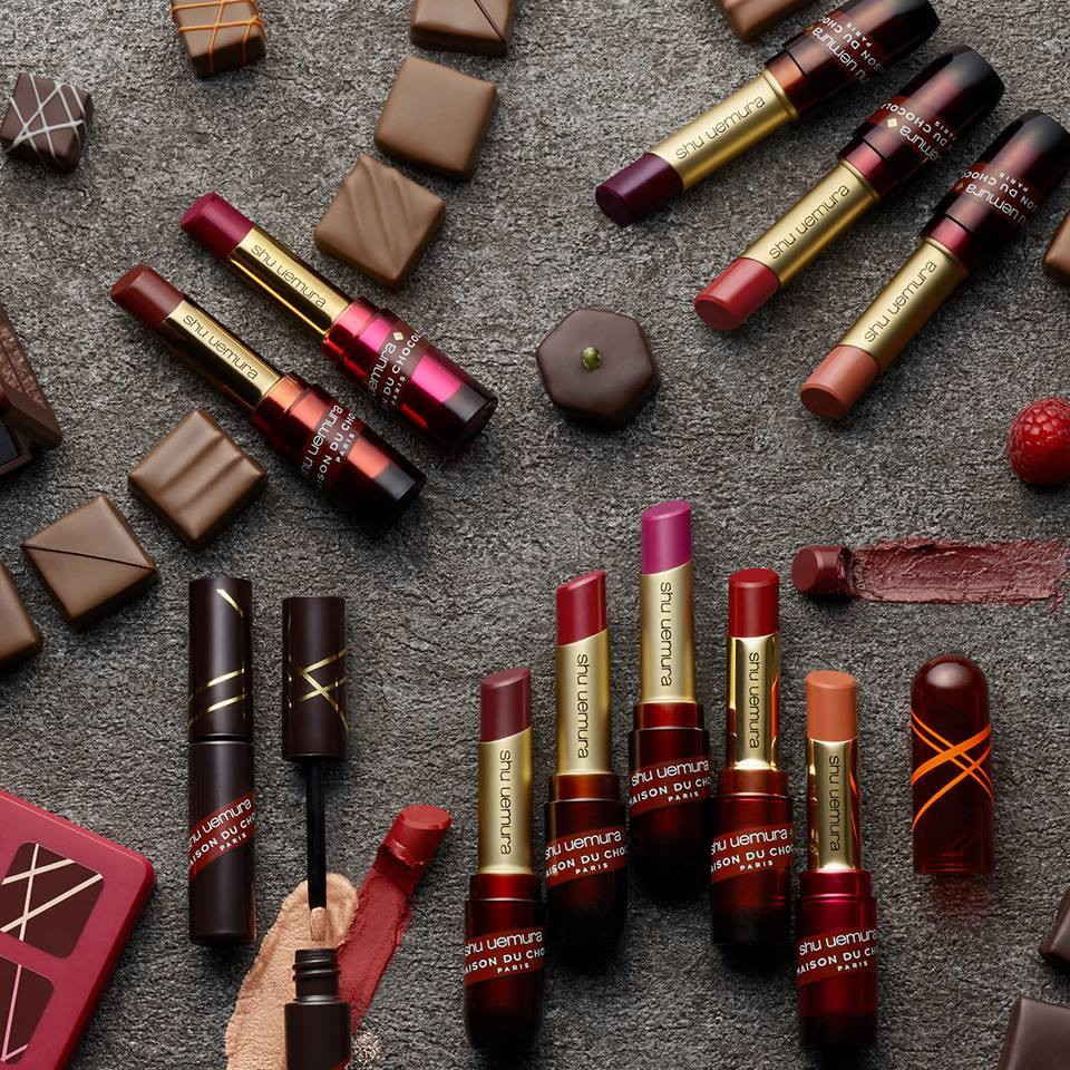 Shu Uemura x La Maison du Chocolat Paris