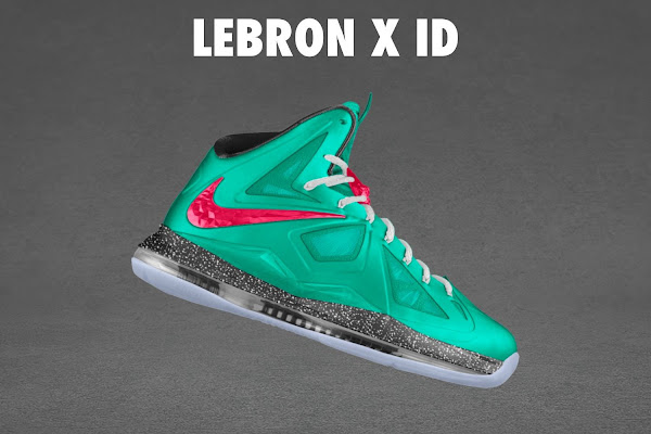 LEBRON X iD Available at NDC US for 220 240 or 310