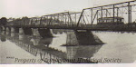 New Delaware River Bridge with Trolley, circa 1905