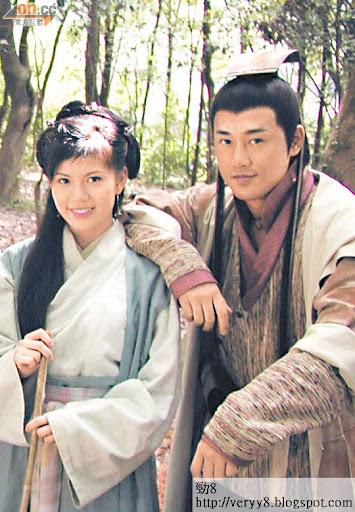 張美妮曾與林峯合作拍攝電視劇《布衣神相》