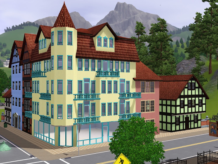 old town sims dels world haus apartment