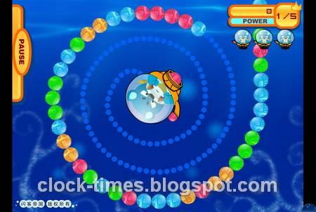 Marine Balls screen