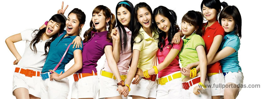 Portadas para facebook Girls generation