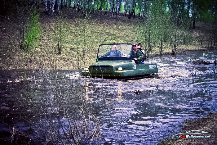 Medved, the Bear All-Terrain Russian Vehicle