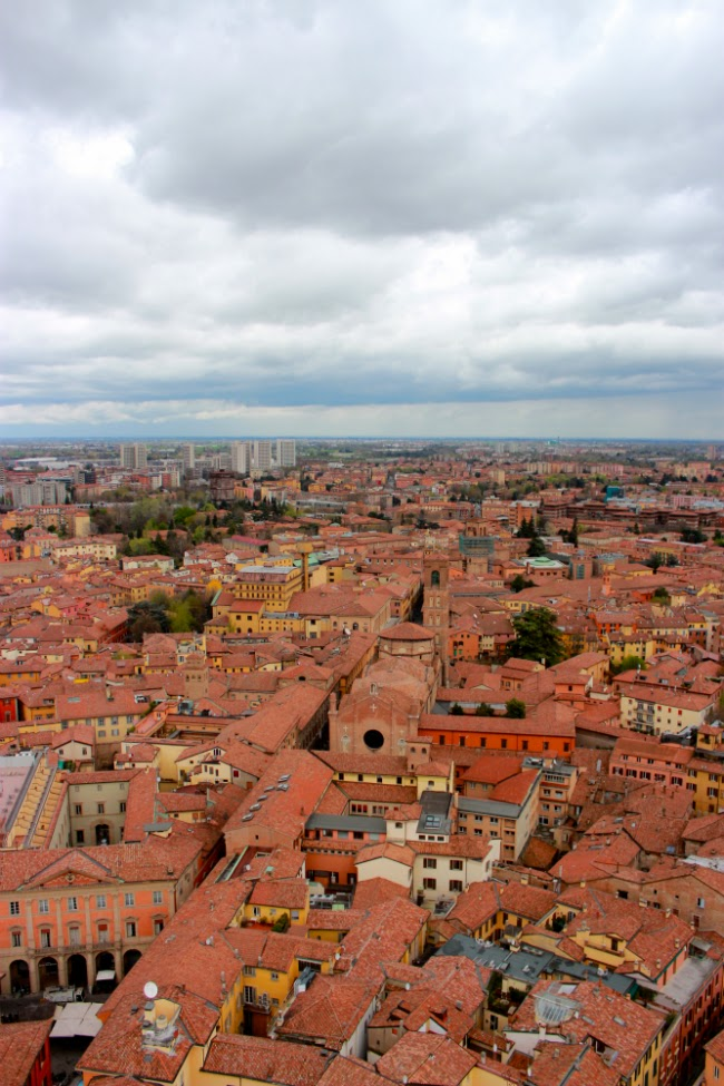 roof bologna view city