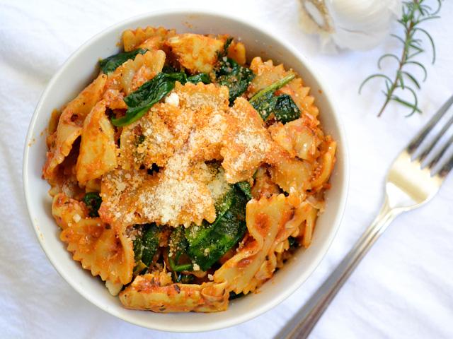 Zesty Tomato & Artichoke Pasta