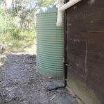 Water tanks next to toilet