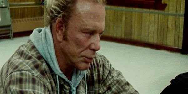 Screen Shot Of Hollywood Movie The Wrestler (2008) Download And Watch Online Free at alldownloads4u.com