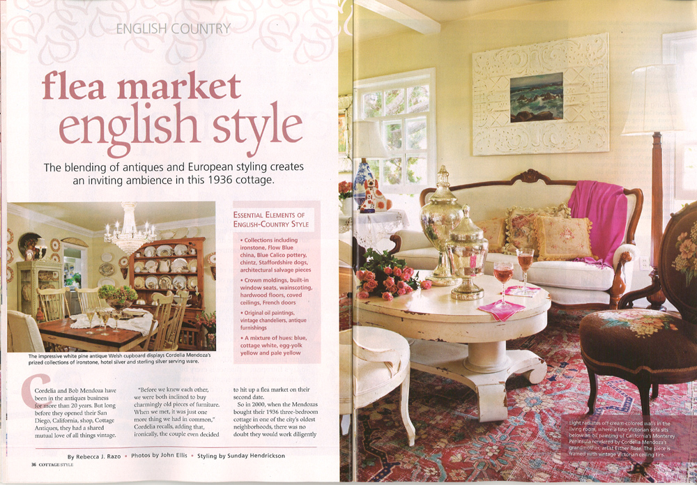 Cordelia 39 s cottage cottage style magazine features our Home and cottage magazine