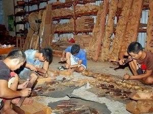 Làng nghề đồ gỗ mỹ nghệ Vạn Điểm - Thường Tín - Hà Nội