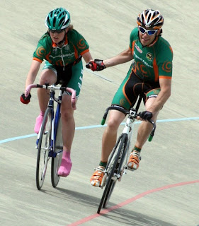 Rachel Canning and Dave Shishkoff, Bronze Medal winners, 2008 BC Provincial Championships