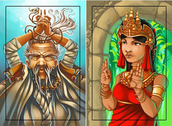 Настольная игра Затерянный храм (Lost Temple)