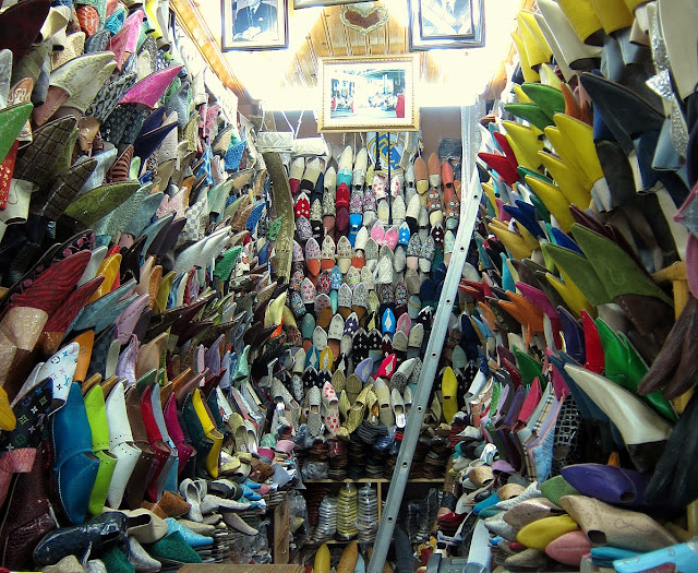 Shoe store in Rabat, Morocco