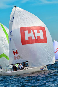 J/70 North Americans- Tim Healy and Helly Hansen