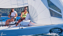 J/70 women's crew- sailing Land Rover Nationals- Chile