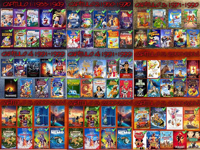Films Infantiles Gran Recopilacion Disney Cap 3 Identi