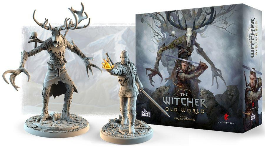 The Witcher: Old World, Go On Board — Kickstarter Preview Image (image found on Kickstarter preview page) e board game Arena