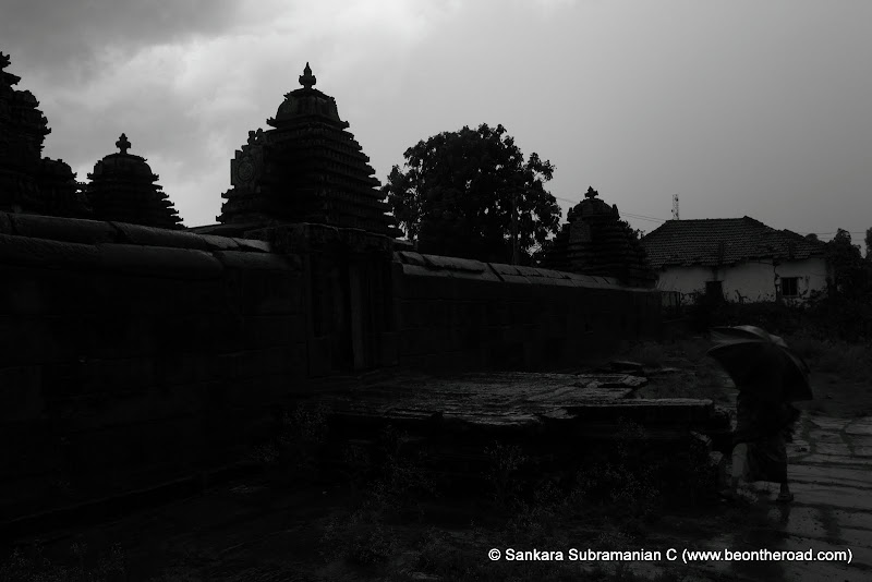 Behind the Lakshmi Devi Temple