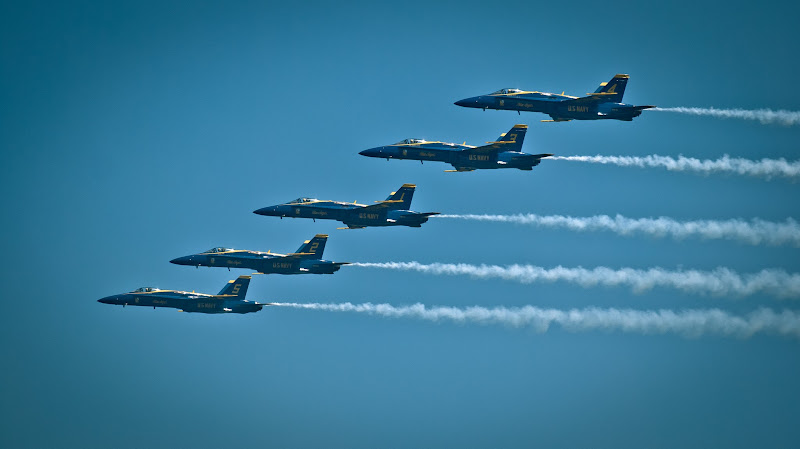Blue Angels -- Seattle 2012..