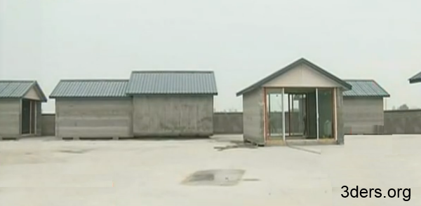 Compañía china logra producir al día 10 Casas Impresas