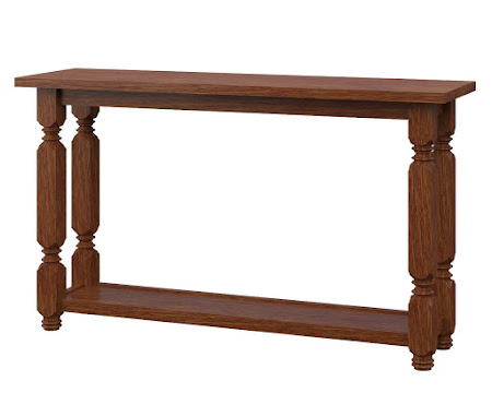 Giordano Sofa Table in Old Master Quarter Sawn Oak