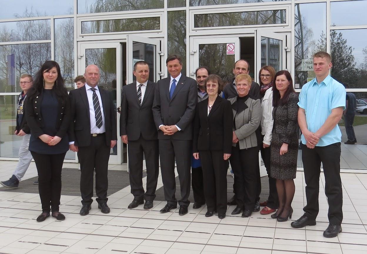 Obisk predsednika RS Boruta Pahorja v slikah