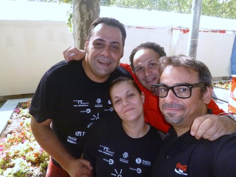 Magos en casetas de Feria de Valladolid