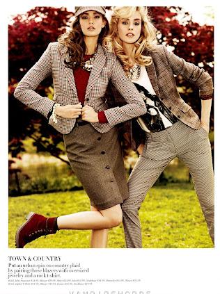 Kendra Spears & Julia Frauche - H&M Fall 2012