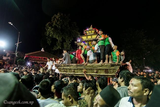Chariot of Goddess Kumari