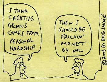 creativity from hardship