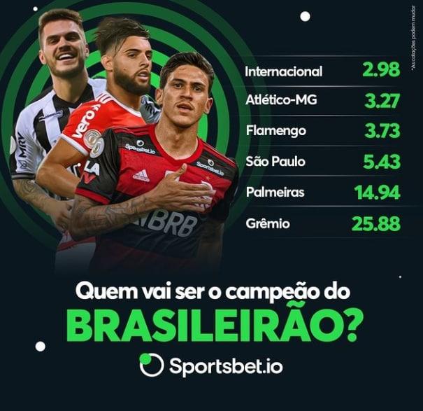 Cotações Campeão Brasileirão