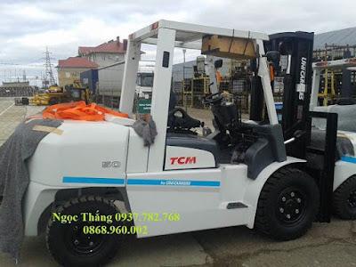 Xe nâng hàng 5 tấn TCM