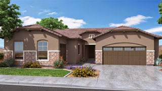 Evolution floor plan in Destiny Series by Lennar Homes in Layton Lakes Gilbert AZ 85297