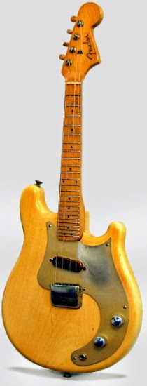 1956 blond fender electric mandolin at Lardy's Ukulele Database