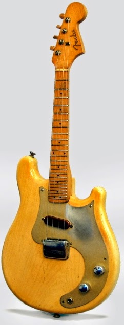 1956 blond fender electric mandolin at Lardy's Ukulele Database