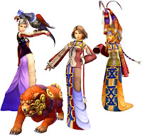 Final Fantasy X2: Barbie, Teresa y Yuna