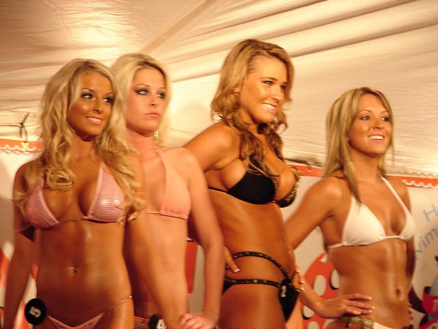 105 9 x bikini contest. Bikini contest   Bikini in