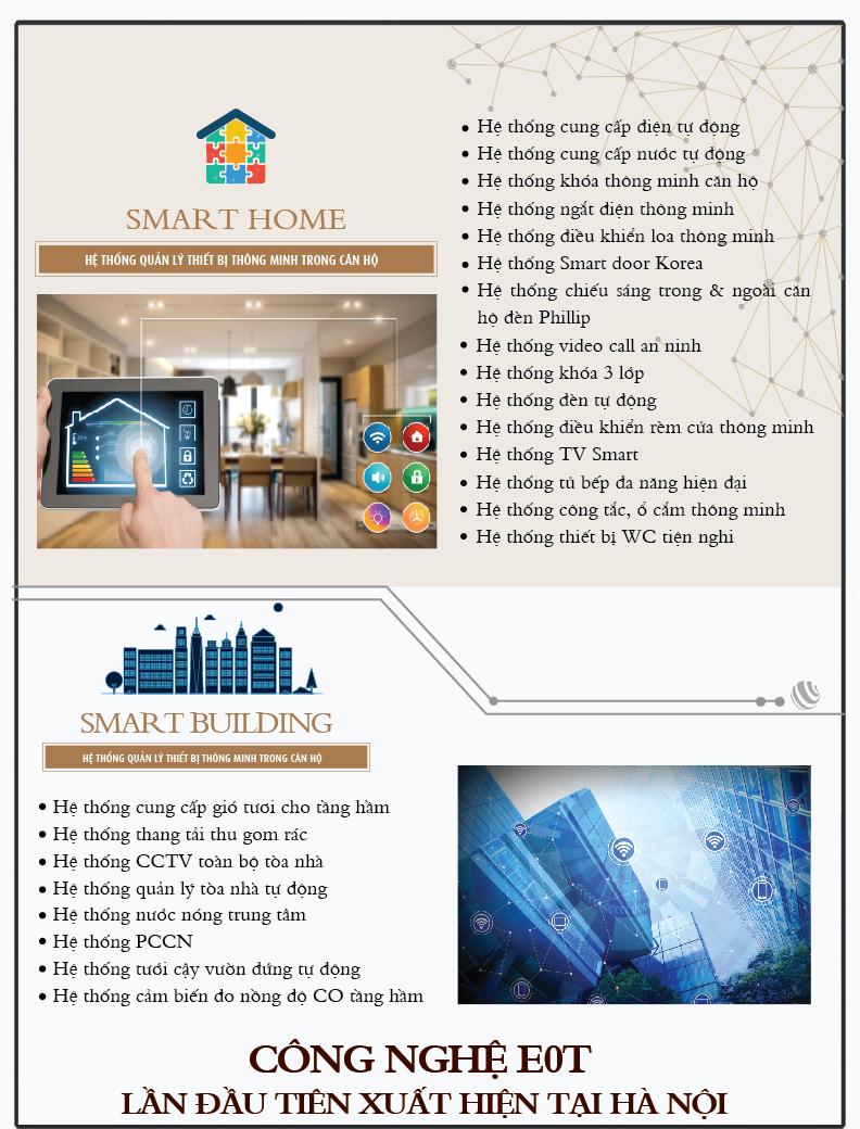 Hệ thống quản lý tòa nhà thông minh Smart Home và Smart Building tại One 18 Ngọc Lâm