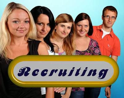 """recruiting""/"