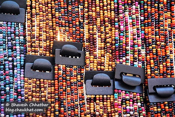 Kala Ghoda - Colorful bead belts